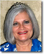 Sue Bohlin in her tiara