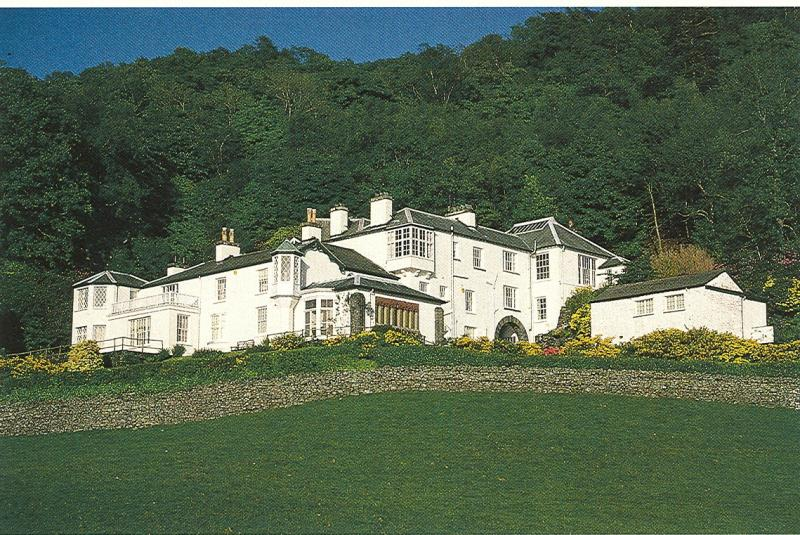 Brantwood- Ruskin's home