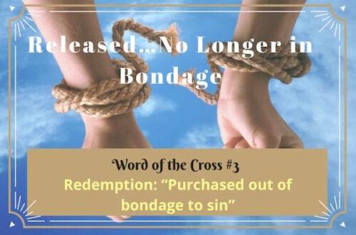 Redemption-Released…No Longer in Bondage
