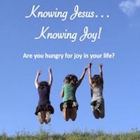Know Jesus and know biblical joy