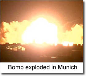Bomb explodes in Munich