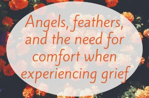 Angels, feathers, and the need for comfort when experiencing grief