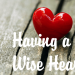 Having a wise heart-women from Proverbs