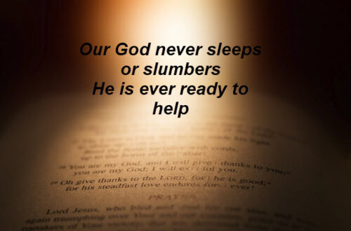 God is our Helper