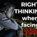 Right thinking when facing evil by Melanie Newton